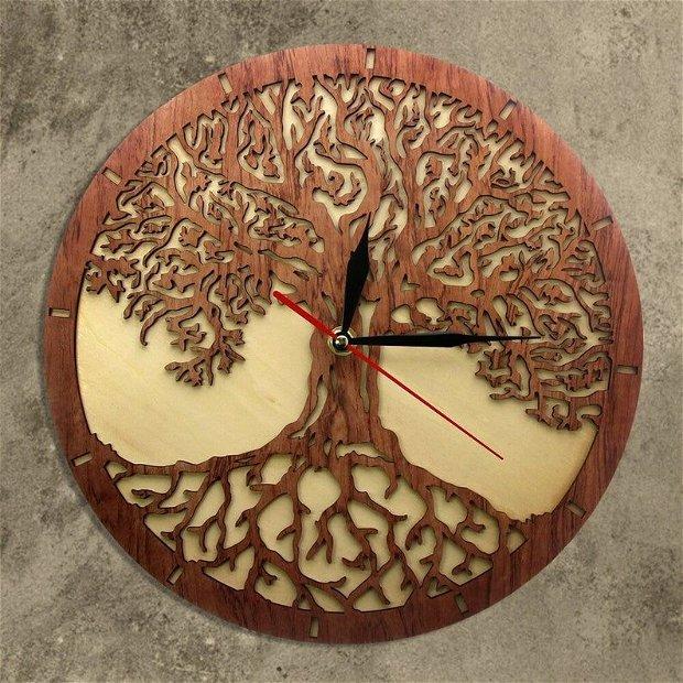 """Ceas de perete""""copacul vieții"""""""