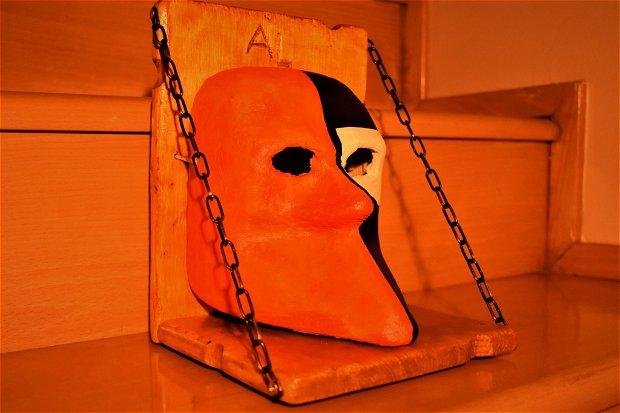 Bauta - Mască Carnaval Veneția lucrată manual
