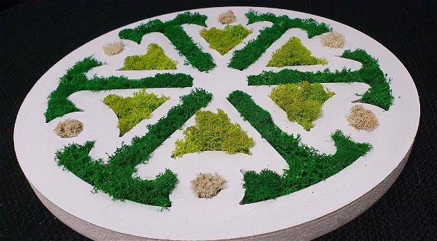 Mandala cu licheni