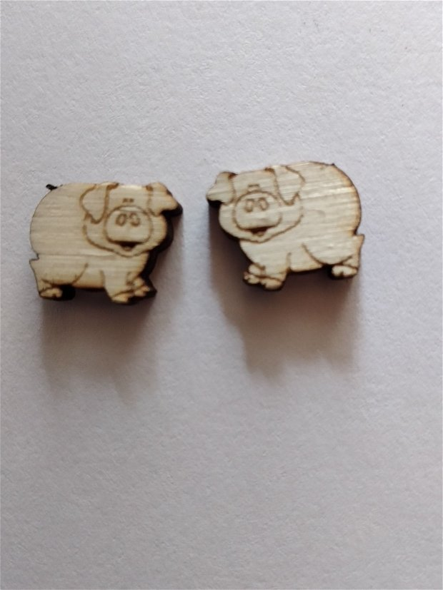 cercei haiosi din lemn