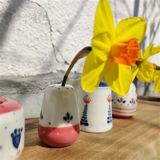 Set 4 mini-vaze Surori