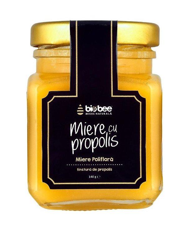 Miere cu propolis, 140 grame