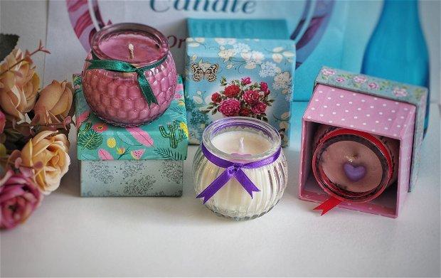 Lumânări parfumate tip mărturie