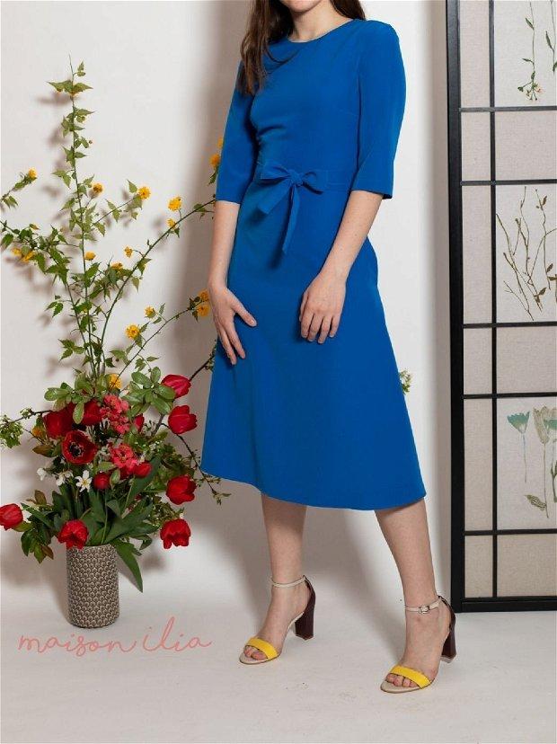 Rochie albastru marin