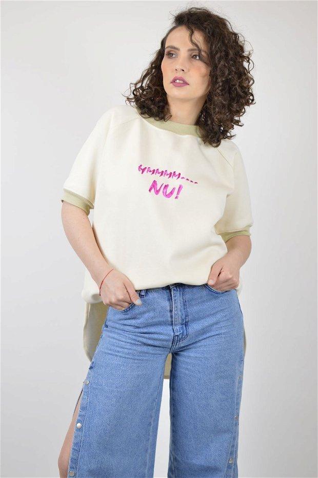 TRICOU FEMINISTSHIRT HMMMM, NU