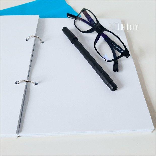 Agenda medic personalizata cu nume pictata manual