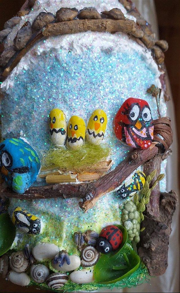 Veioza camera copii Bufnite miniatura