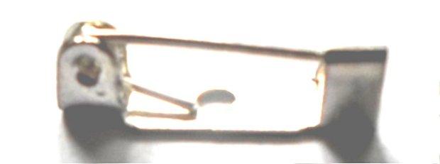Baza ac brosa argintiu cu 1 gaura