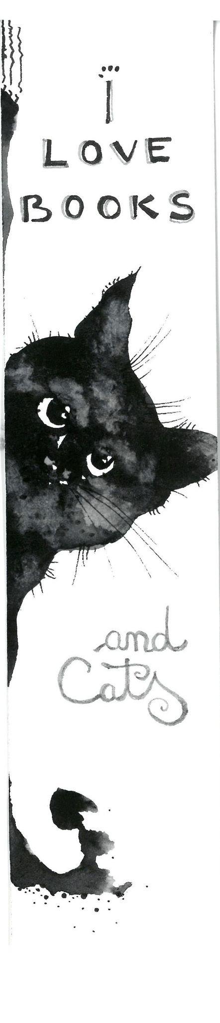 Semne de Carte, Pisici, Ilustratii, Carti, Pictura in Acuarela, Cadou Original, Carte - Nature & Colors Collection