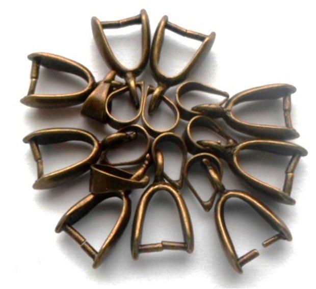 Agatatoare pandantiv mare bronz
