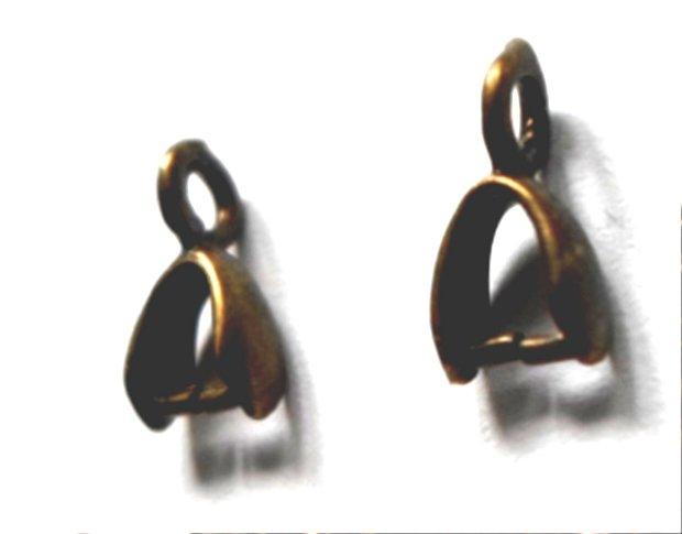 Agatatoare pandantiv mica bronz