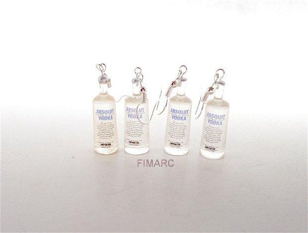 ''Absolut Vodka'' - cercei atarnatori