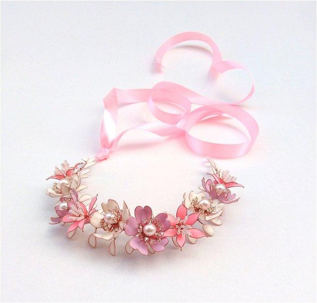 Coroniță flexibilă - roz