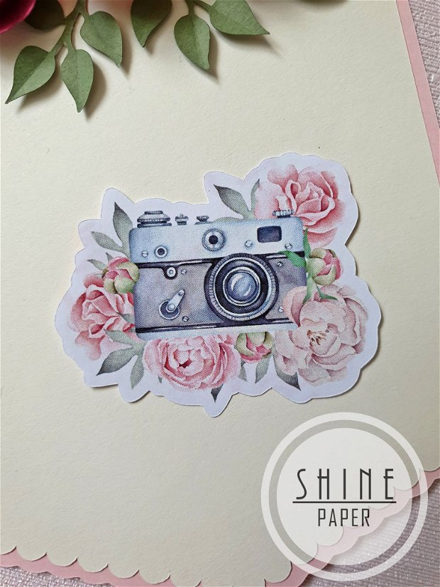 Set stickere/abtibilduri aparat foto