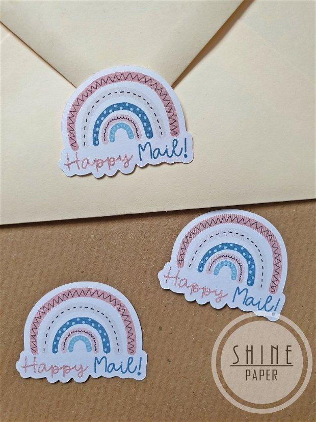 """Stickere ,,Happy Mail"""""""