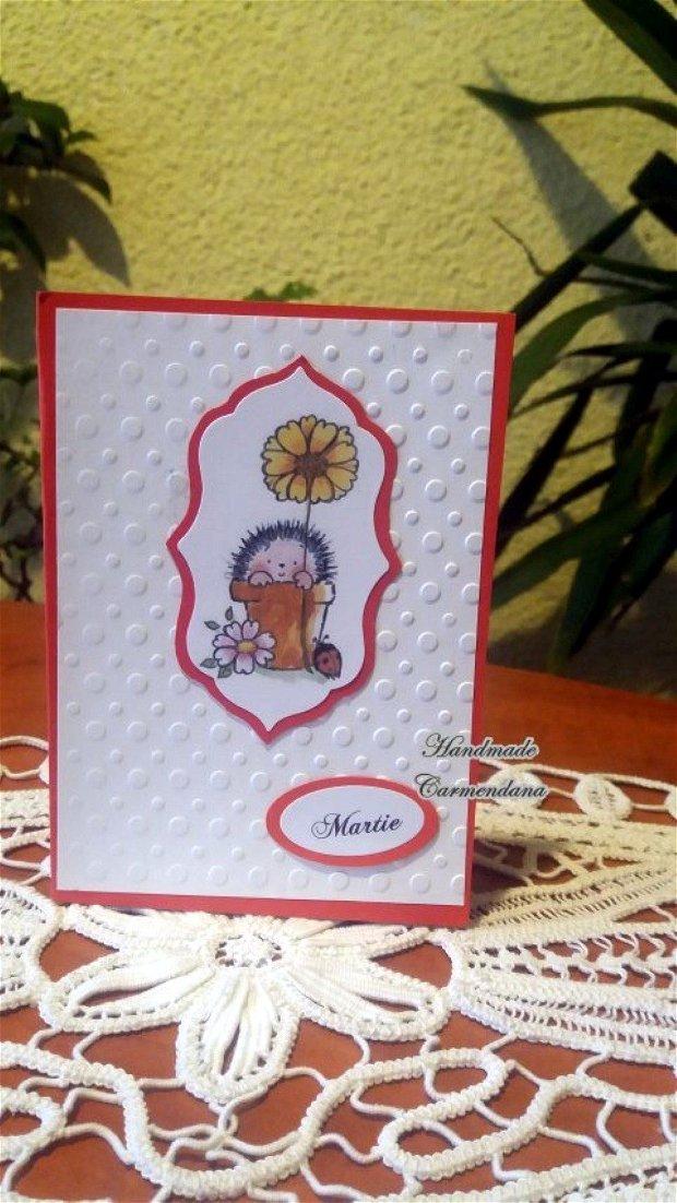 Felicitare handmade
