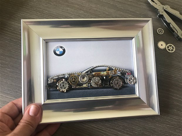 Tablou masina model BMW M 471, Cadouri zile de nastere, Cadouri pentru el