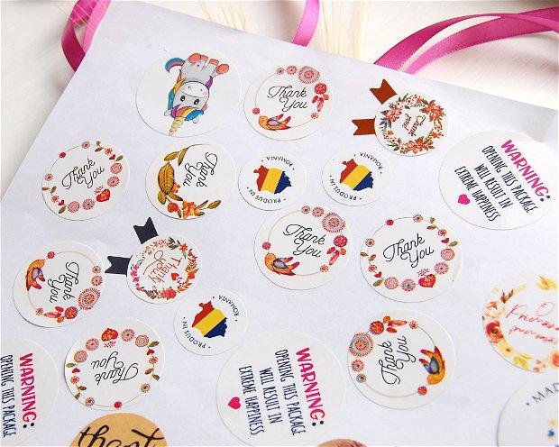 Random Sticker Pack - set 25 buc
