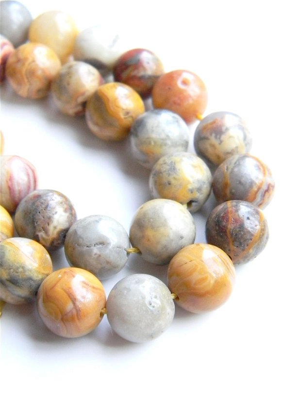 Crazy Lace Agate 9 mm (AVDR)