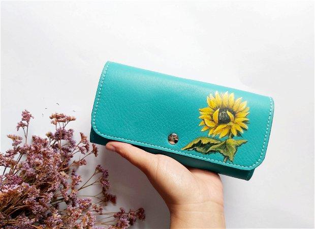 Portofel Floarea-soarelui