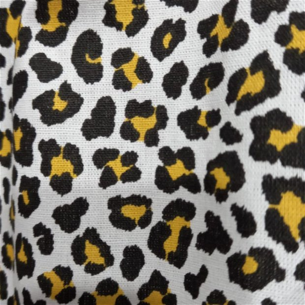 Rochita de vara din bumbac, Leopard