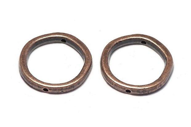 Link metalic, cupru, 19 mm