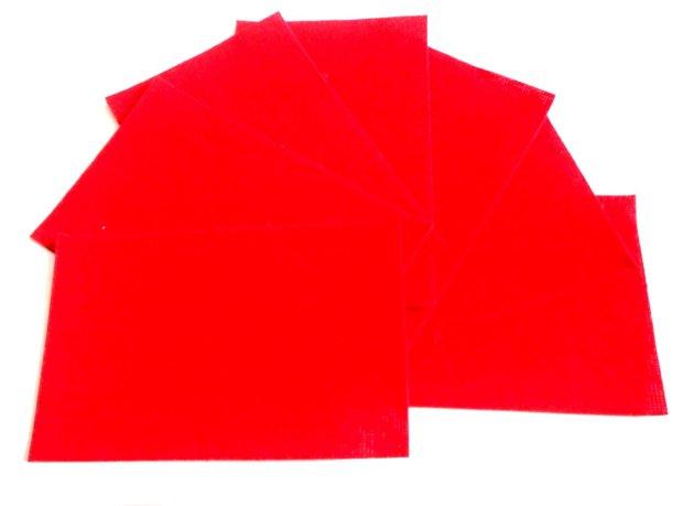 Accesorii pentru cutie bijuterii cadou din material textil rosu inchis