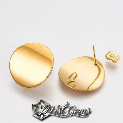 Baza cercei inox auriu CER038
