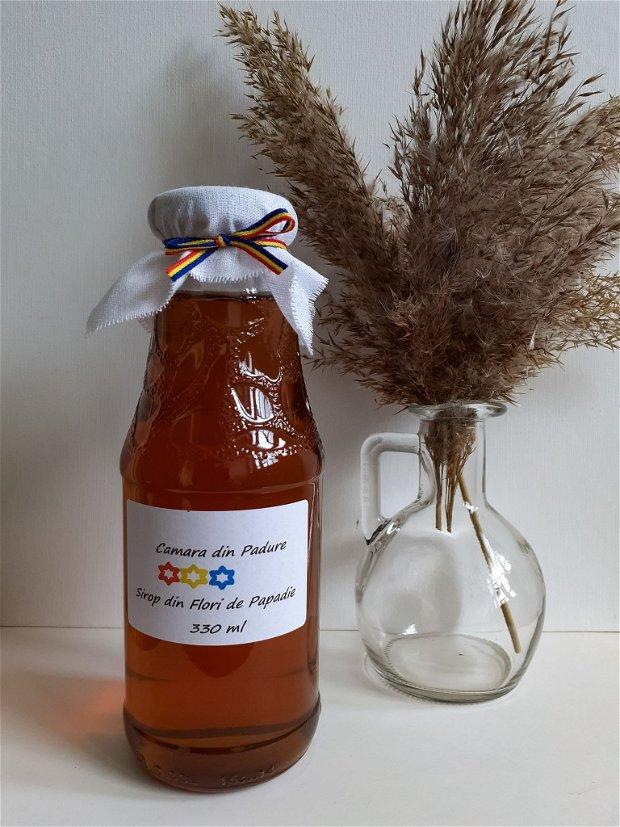 Sirop natural din flori de Păpădie și lămâie ,330 ml
