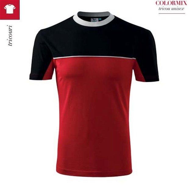 Tricou rosu barbati, 100% bumbac, Colormix 109