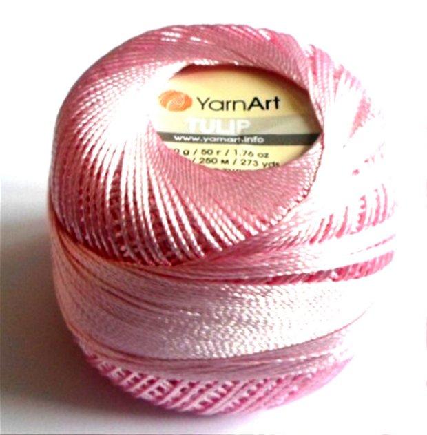 Bobina Yarn Art Tulip roz deschis