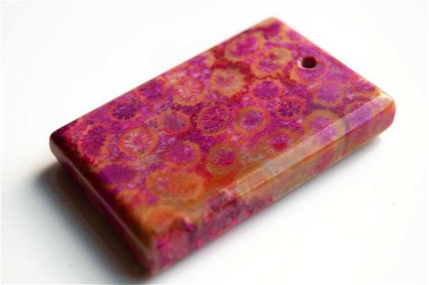 Pandant  coral fosil W5557