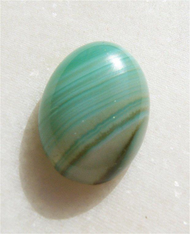 Cabochon agata dungata aprox 24x17.4x8.7 mm