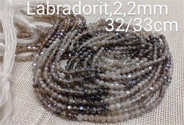 Labradorit diamond coated