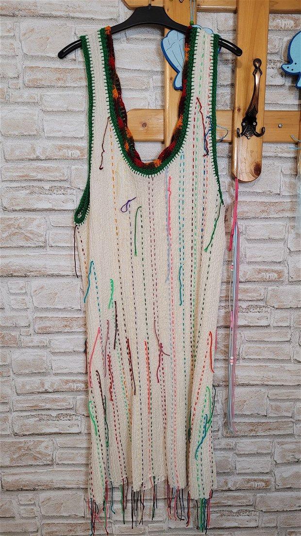Sarafan tricotat