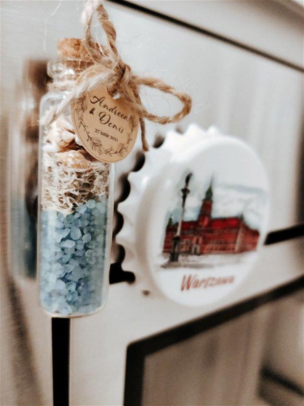 Mărturii nuntă tematică marină cu magnet, Kandor Special Gifts