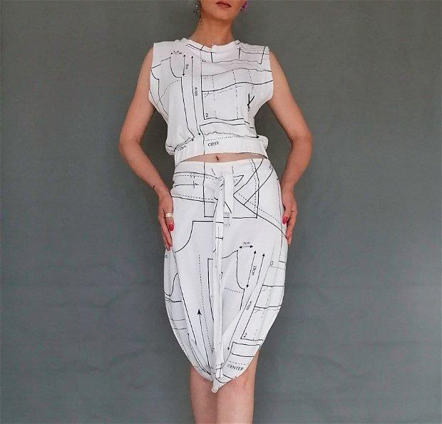 Costum designer's pattern
