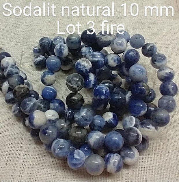 Sodalit natural, 10 mm