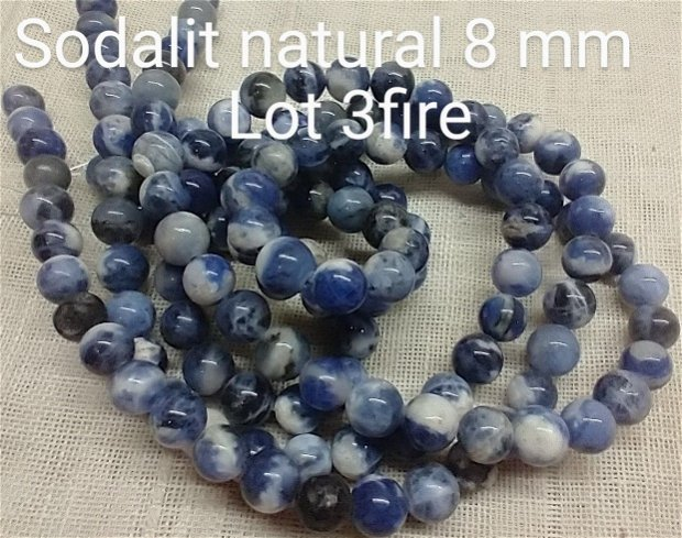 Sodalit natural, 3 fire