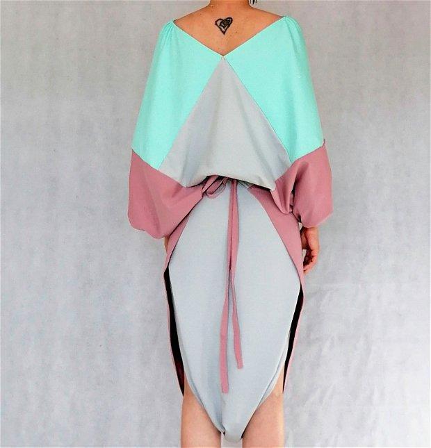 Origami t-shirt + fusta salvari V4