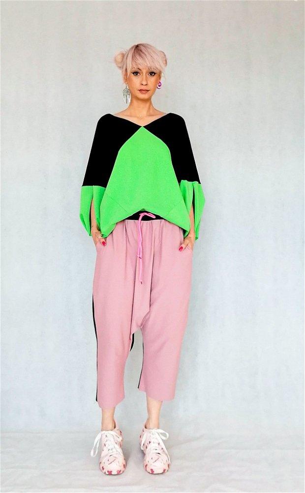Origami t-shirt + pantaloni 3/4