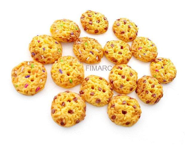 Cookies cu ciocolata sau bomboane - nasturi