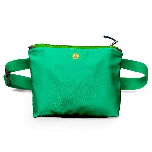 Borseta Handmade Fanny Pack, Mulewear, Verde Crud, 22x19 cm