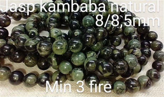 Jasp Kambaba natural ,8,5mm