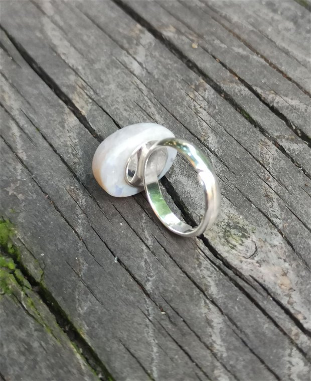 Inel din Argint 925 si opal etiopian