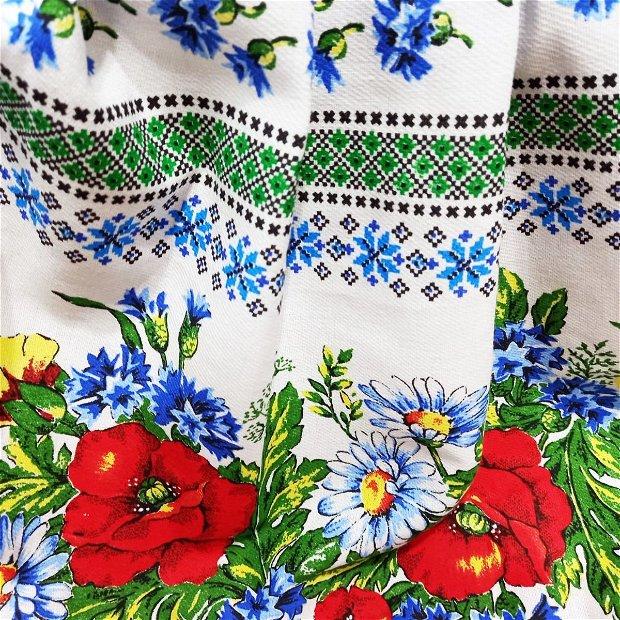 Rochie din bumbac de vara pentru fete  Crisana