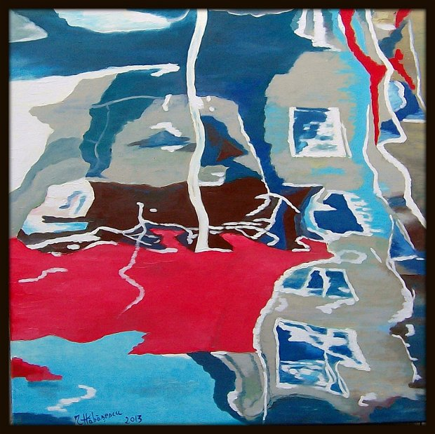 pictura abstracta - reflexii 1