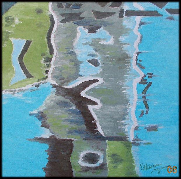pictura abstracta - Reflexii 2