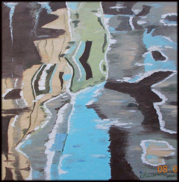 pictura abstracta unicat