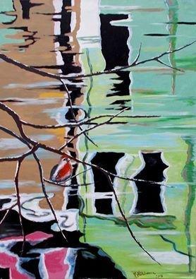 pictura abstracta - Reflexii 4